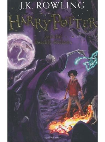 Harry Potter and the Deathly Hallows哈利波特与死亡圣器(英国版,平装)ISBN9781408855713
