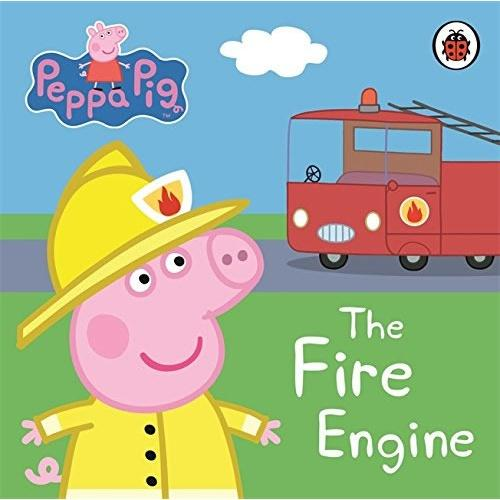 Peppa Pig(My First Storybook):The Fire Engine [Boardbook]小猪佩奇卡板故事书:救火车ISBN9781409304876