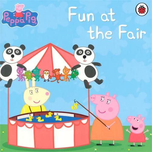 Peppa Pig: Fun at the Fair小猪佩奇故事书:太有趣了ISBN9781409309086