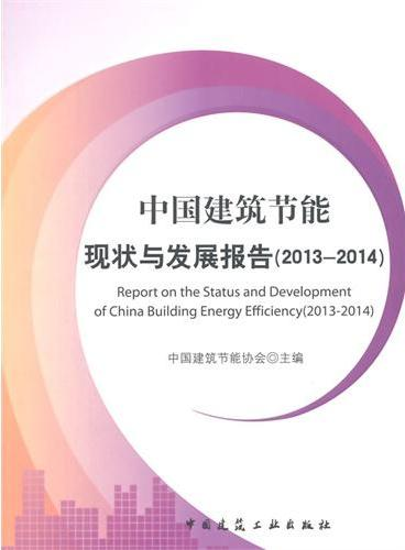中国建筑节能现状与发展报告(2013)