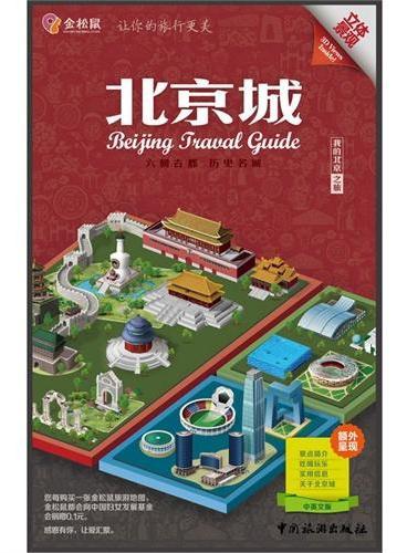 金松鼠旅游地图——北京城