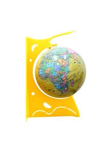 14CM PVC中文政区海洋黄版地球仪