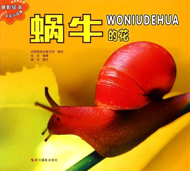 乐乐小动物:蜗牛的花