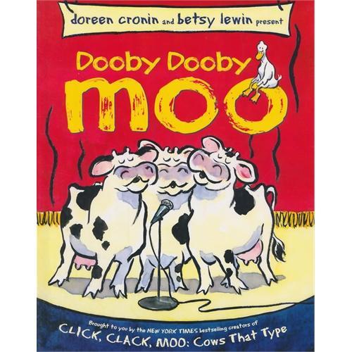 Dooby Dooby Moo [Hardcover] 呼噜、呼噜、哞
