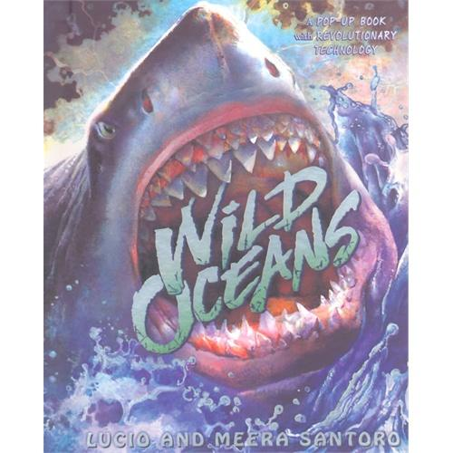 Wild Oceans: A Pop-up Book with Revolutionary Technology狂野的海洋(亚马逊畅销科普立体书)ISBN9781416984672