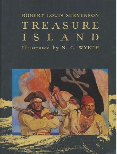 Treasure Island(Scribner Illustrated Classics)金银岛(名家插图版,精装)ISBN9781442474444