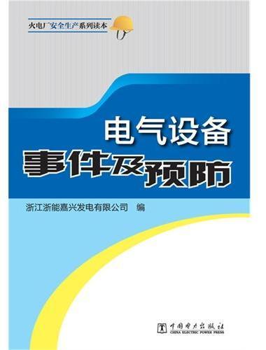 火电厂安全生产系列读本 电气设备事件及预防