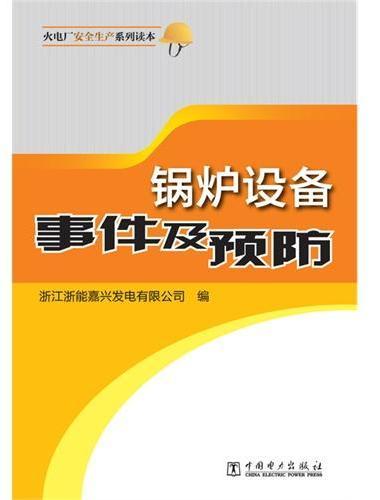 火电厂安全生产系列读本 锅炉设备事件及预防