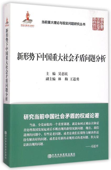 新形势下中国重大社会矛盾问题分析