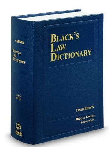 Black's Law Dictionary(ISBN:9780314613004)