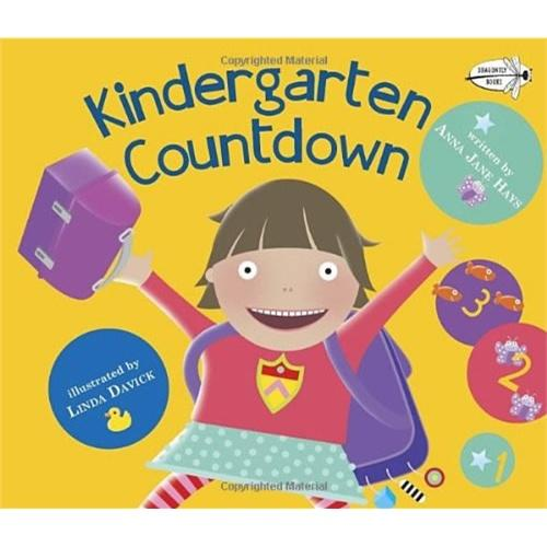 Kindergarten Countdown(Dragonfly Books)幼儿园学数数ISBN9780385753715