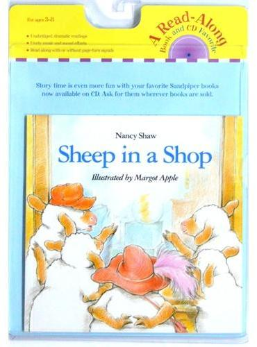 Sheep in a Shop (Book+CD)好奇猴乔治在商店(书+CD)ISBN9780547237671