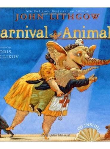 Carnival of the Animals动物嘉年华(精装,入选20世纪经典绘本)ISBN9780689867217