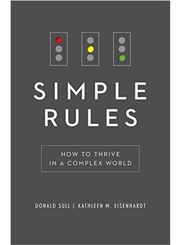 Simple Rules:How to Thrive in a Complex World (ISBN=9781444798708)