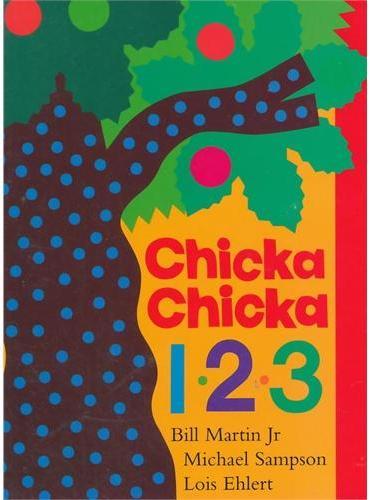 Chicka Chicka 1,2,3[Boardbook]叽喀叽喀,一、二、三[卡板书]ISBN9781481400565