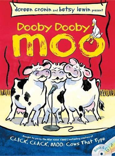 Dooby Dooby Moo(Book+CD)《呼噜、呼噜、哞》(书+CD)ISBN9781481414562
