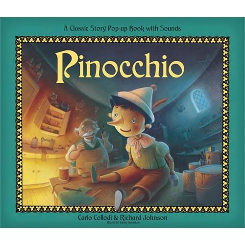Pop Up Sounds:Pinocchio音乐立体书:匹诺曹ISBN9781848773851