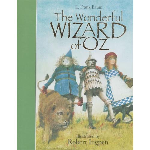 The Wizard of Oz (Robert Inpgen Classics)名著名绘版《奥兹王国历险记》(罗伯特-英潘插图,精装)ISBN9781848775282