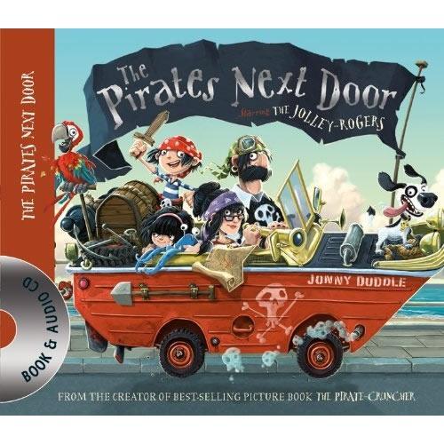 The Pirates Next Door (Book+CD)邻家海盗(荣获水石书店童书金奖)ISBN9781848778504