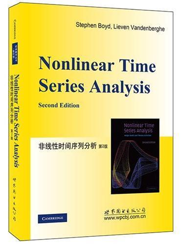 非线性时间序列分析 第2版