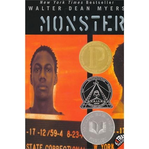 Monster怪兽(纽约时报畅销书,荣获美国国家图书奖等多个奖项)ISBN9780064407311