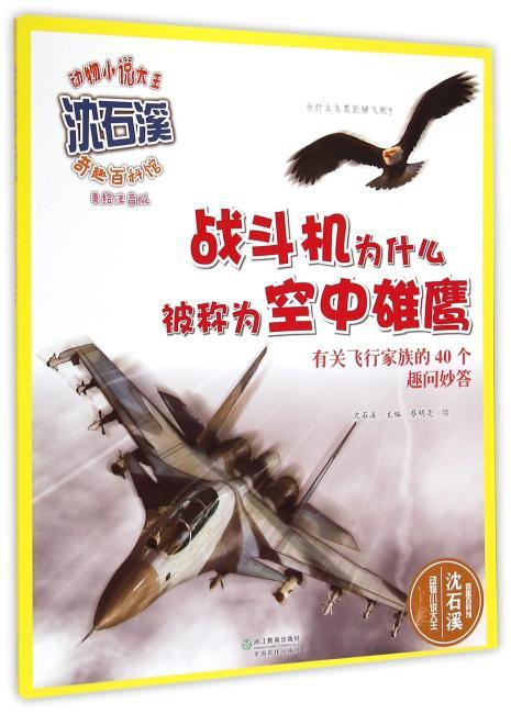 动物小说大王沈石溪·奇趣百科馆  战斗机为什么被称为空中雄鹰