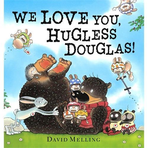 We Love You, Hugless Douglas我们爱你,道格拉斯ISBN9781444908305
