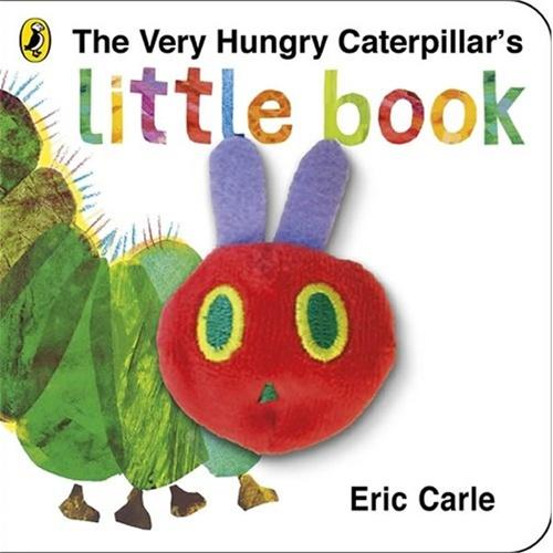 The Very Hungry Caterpillar's Little Book: Eric Carle [Board book]好饿的毛毛虫(手偶卡板书)