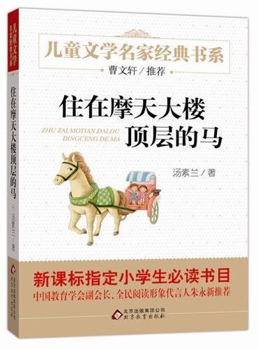 《住在摩天大楼顶层的马》儿童文学名家经典书系