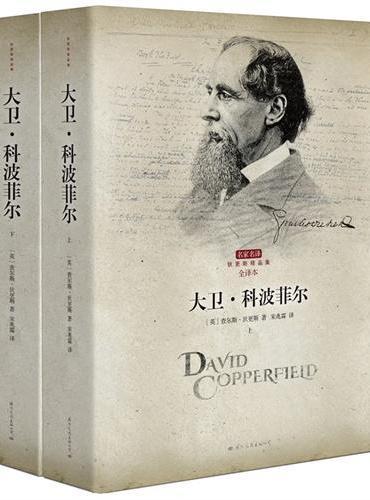 大卫科波菲尔 全两册 著名翻译家宋兆霖权威译作 经典全译本 一部带有强烈自传色彩的小说 狄更斯 最宠爱的孩子 一百多年来盛行不衰