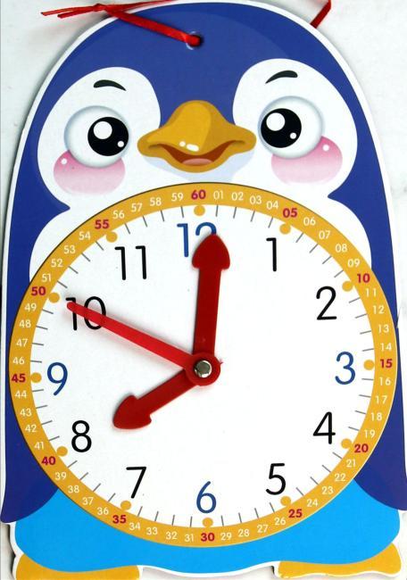 时间启蒙5——小企鹅