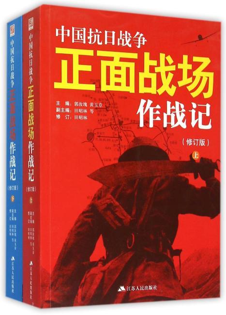 中国抗日战争正面战场作战记:全2册