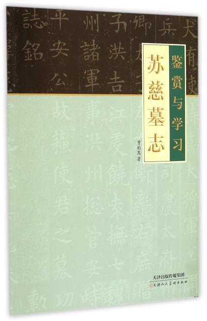 鉴赏与学习 苏慈墓志