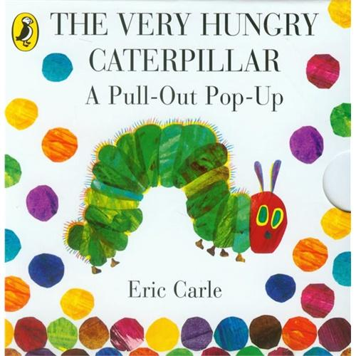 The Very Hungry Caterpillar: A Pull-Out Pop-Up好饿的毛毛虫[经折装]