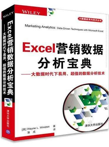 Excel营销数据分析宝典——大数据时代下易用、超值的数据分析技术 大数据应用与技术丛书