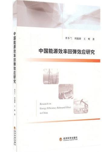 中国能源效率回弹效应研究