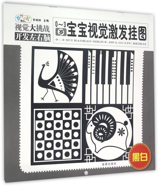 0-3岁宝宝视觉激发挂图(黑白)