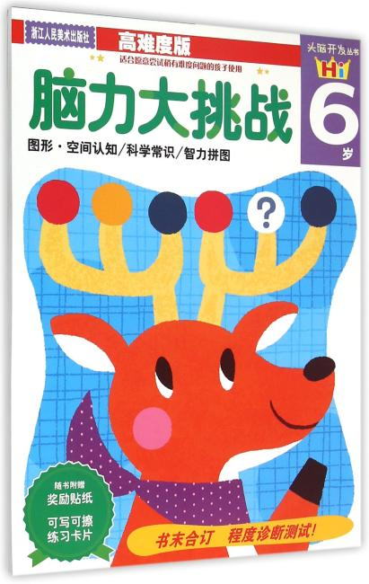 头脑开发丛书:脑力大挑战(6岁)