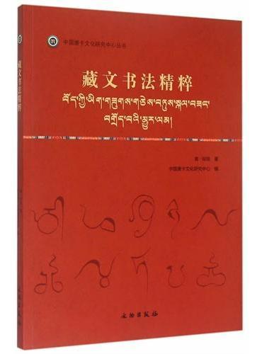 唐卡艺术系列丛书——藏文书法精粹