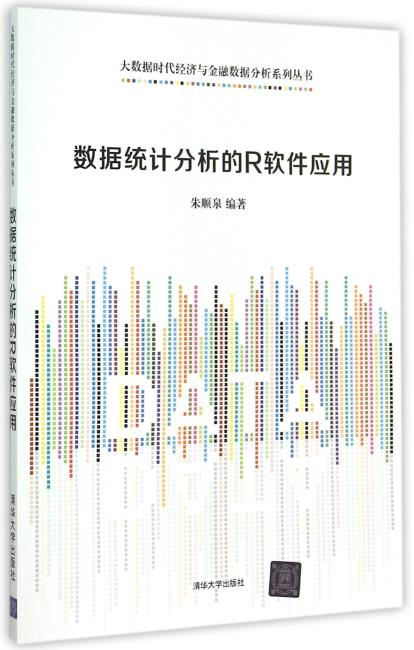 数据统计分析的R软件应用 大数据时代经济与金融数据分析系列丛书