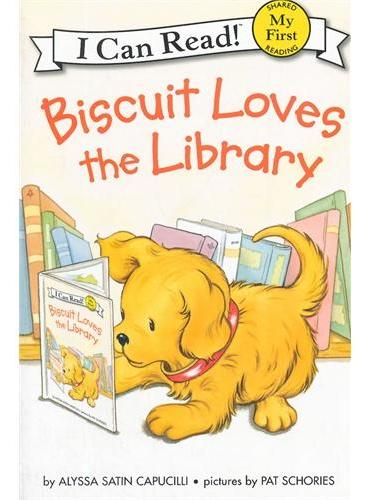 Biscuit Loves the Library (My First I Can Read)小饼干喜欢图书馆ISBN9780061935060