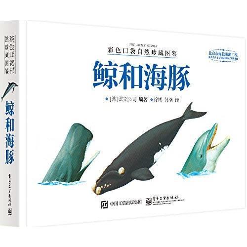 彩色口袋自然珍藏图鉴 鲸和海豚(全彩)