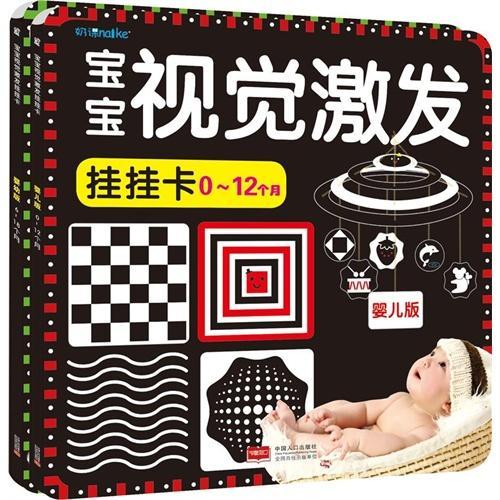 宝宝视觉激发挂挂卡(0-12个月)-婴儿版