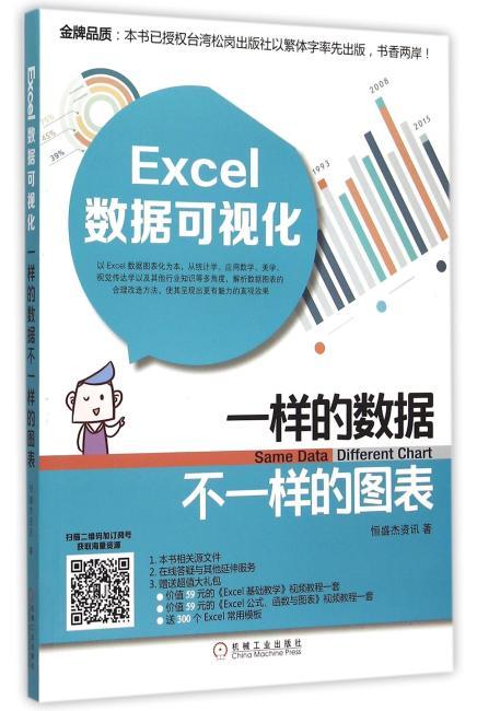 Excel数据可视化 一样的数据不一样的图表