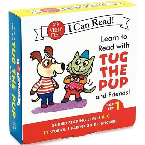 Learn to Read with Tug the Pup and Friends!#1 (I Can Read My Very First Level)小狗和朋友们ISBN9780062266897