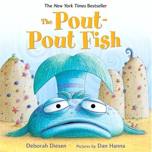 The Pout-Pout Fish 撅嘴巴的大头鱼ISBN9780374360979