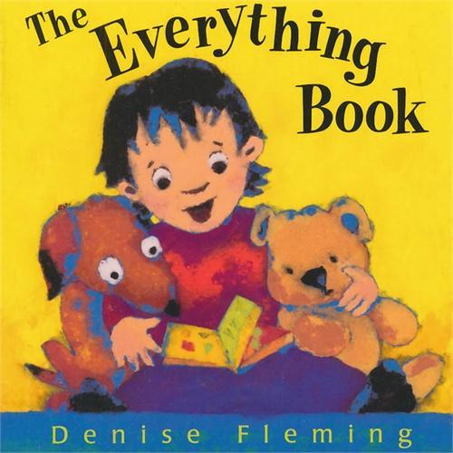 Everything Book (by Denise Fleming)什么都知道(凯迪克奖获奖作者作品)ISBN9780805077094