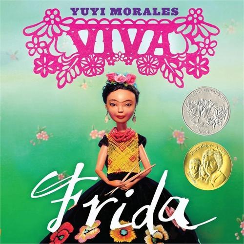 Viva Frida 万岁,弗里达(2015年凯迪克银奖,精装)ISBN9781596436039