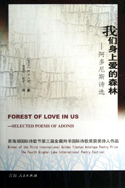 我们身上爱的森林:阿多尼斯诗选