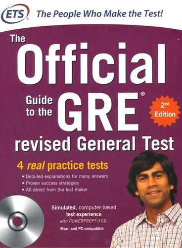 GRE THE OFFICIAL GUIDE TO THE REVISED GE GRE Official Guide(OG) 最新版官方指南